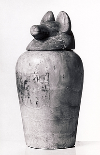 Kanopekrukke. Ægyptisk Sentid