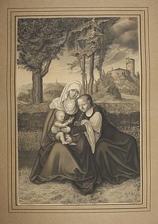 Anna, Maria og Jesusbarnet