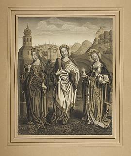 Sankt Barbara, Christina og Maria Magdalena
