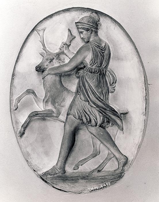 Diana med sin hind