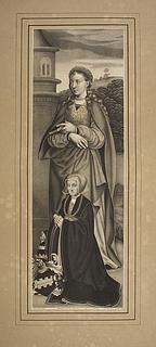 Sankt Barbara og stifteren Sibylla