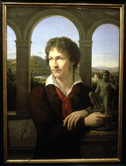 Adolf Senff: Bertel Thorvaldsen, 1817-1818