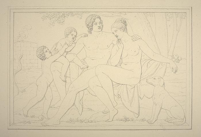 Adam og Eva med Kain og Abel