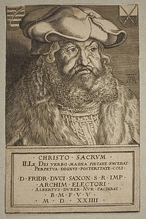 Kurfyrst Frederik 3. den Vise