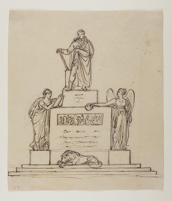 Monument over Fyrst Karl Phillip von Schwarzenberg