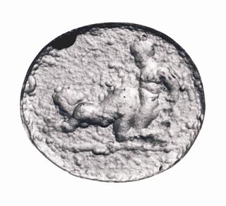 Erotisk scene. Hellenistisk-romersk paste