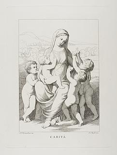 Caritas med fire børn