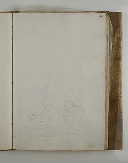 Kunstnere sidder og tegner