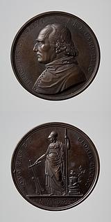 Medalje forside: Ercole Consalvi. Medalje bagside: Minerva