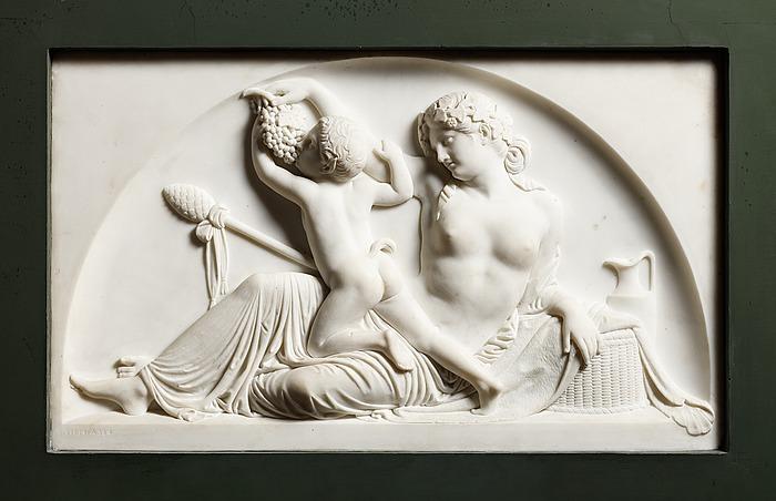 Bacchantinde og en satyr