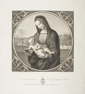 Maria med barnet ( Madonna Connestabile )