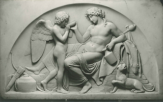 Cupid and Bacchus
