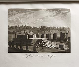 Temple de Bacchus à Pompeia