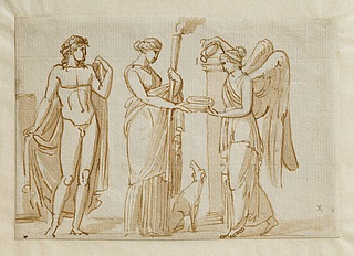 Bacchus, Diana og Victoria (?)