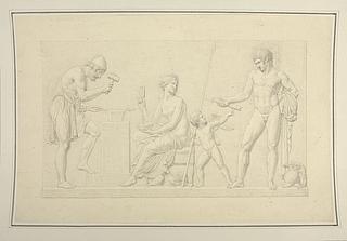 Venus, Mars og Amor i Vulkans værksted