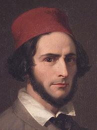 Penry Williams: John Gibson, 1845, detalje