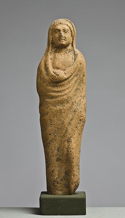 Statuette af en kvinde (?). Italisk