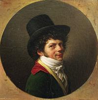 Jean Baptiste Joseph Wicar: Selvportræt