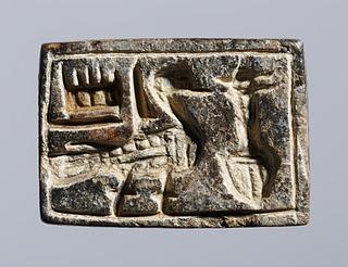 Segl med hieroglyfindskrift. Ægyptisk