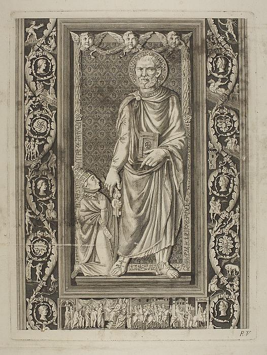 St Peter overdrager nøglerne til Eugenius 4.