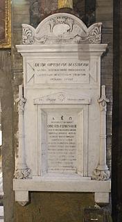 Gravmæle for Orest Kiprenskij, Sant Andrea delle Fratte, Rom