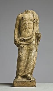 Statuette af en ofrende mand. Græsk-romersk