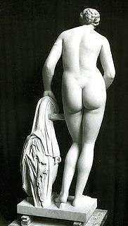 Colonna Venus, romersk marmorkopi efter Praxiteles Afrodite fra Knidos, Museo Pio-Clementino, Vatikanet, Rom, inv.nr. 812.