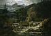 Norsk fjeldlandskab med fos