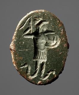 Abraxas. Ægyptisk-romersk amulet