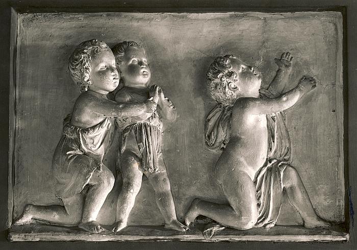 Bedende børn til gravmæle over Arthur Potocki