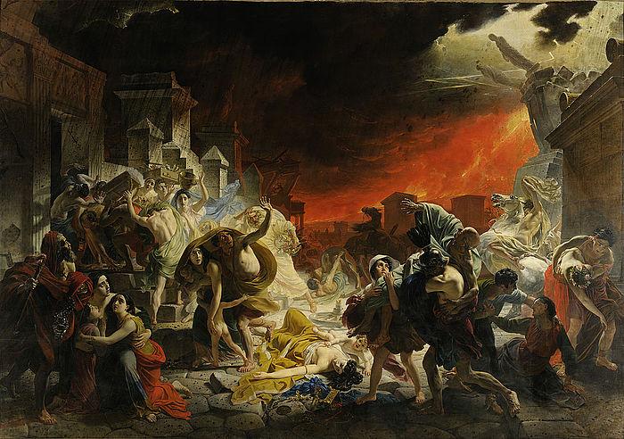 Karel Pàvlovic Brjullòv: Pompejis sidste dag, 1830-33