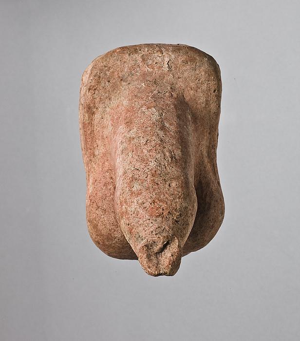 Anatomisk votiv i form af mandligt genitalieparti. Etruskisk-italisk