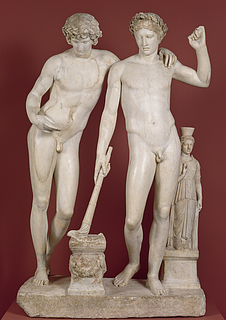 San Ildefonso-gruppen, ca. 10 f.v.t., marmor, romersk, Museo Nacional del Prado, Madrid