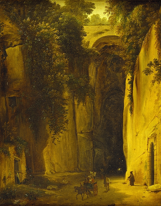 Posillipo-grotten ved Napoli