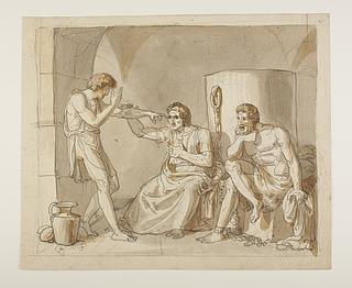 Josef tyder drømme for Faraos hoffolk