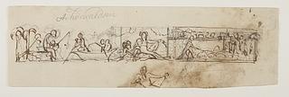 Fiskeren, den persiske købmands flugt, hyrdedrengen med sin fåreflok og Tigris til Alexander den Stores indtog i Babylon