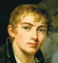Rudolph Suhrlandt: Selvportræt, ca. 1810