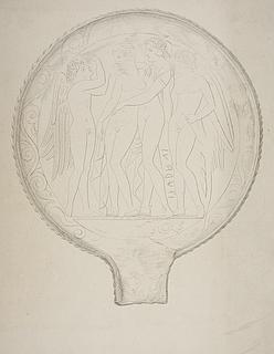 Afrodite og Adonis omgivet af Eros og en kvindelig (?) bevinget figur