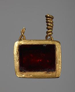 Vedhæng. Etruskisk