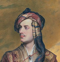 Thomas Phillips: Lord Byron in Albanian Dress (c. 1835)