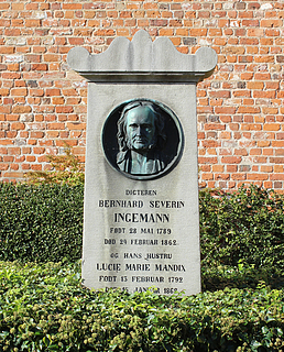 NN: B.S. Ingemanns grav, Sorø Klosterkirke