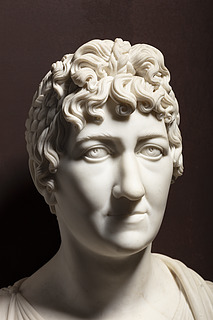 Thorvaldsen: Elisabeth von der Recke, 1805-1806, marmor, 69,3 cm, foto Jakob Faurvig