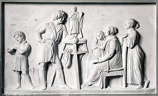 Thorvaldsen hos familien Stampe