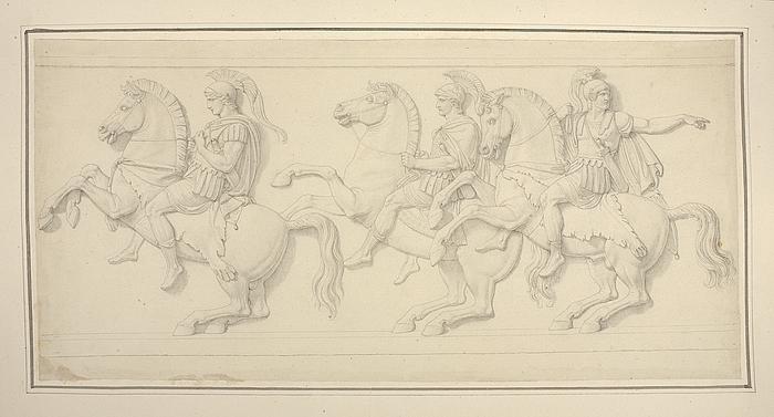 Hephaestion, hærførerne Parmenio og Amyntas