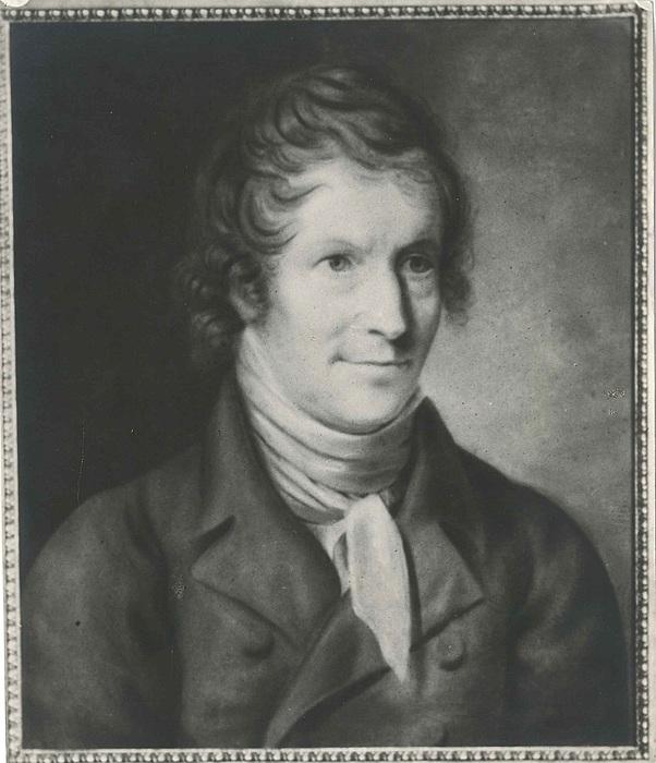Formodentlig Christian Horneman. Portæt af Thorvaldsen, 1820?