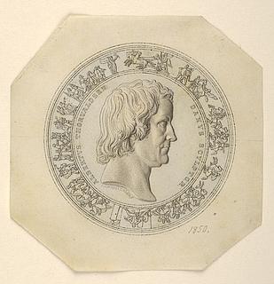 Portræt af Thorvaldsen. Dele af Alexander den Stores indtog i Babylon