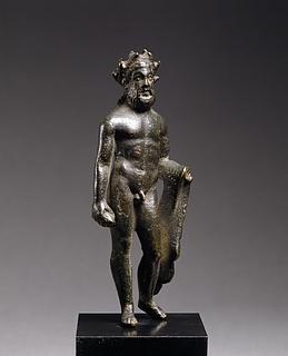 Herkules. Romersk statuette