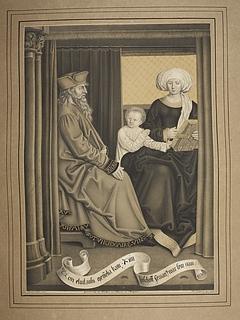 Eliud og Memelia med Sankt Servatius