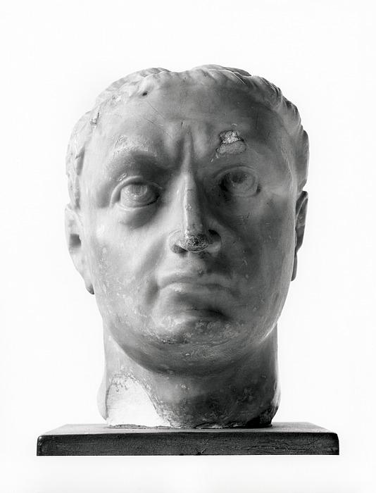 Portrætskulptur af en romersk kejser (?). Renæssance