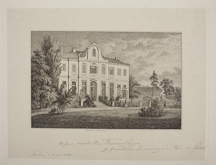 Familien Carus' villa (?)